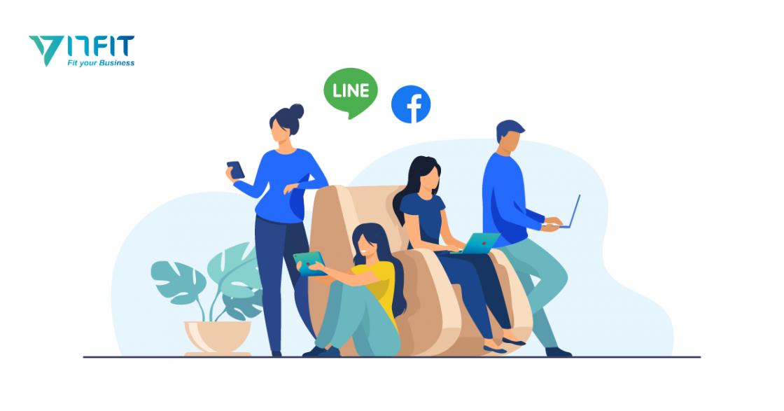 LINE、FB串接預約系統APP