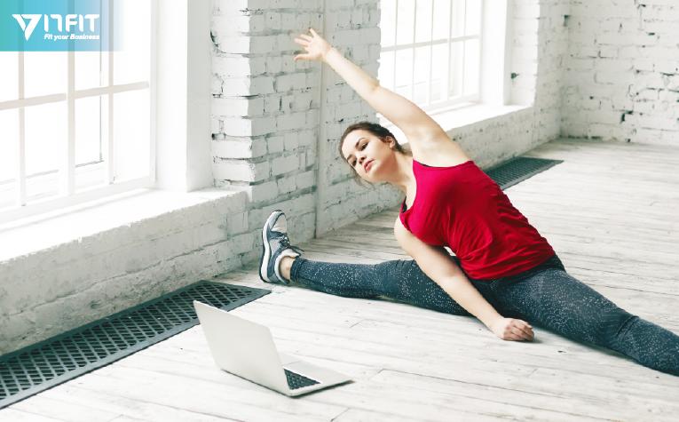 疫情期間,健身房可開設線上課程